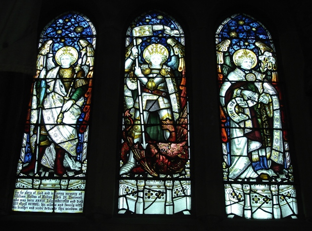 Window in memory of Sir William Hulton