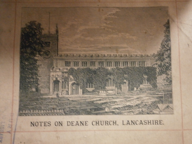 Notes on Deane Church, Lancashire